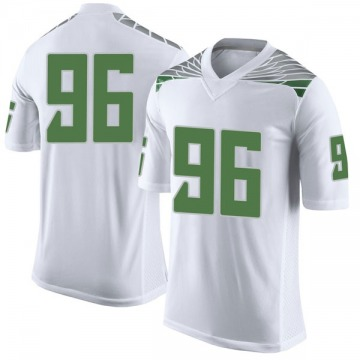 Youth Adam Stack Oregon Ducks Nike Limited White Football College Jersey